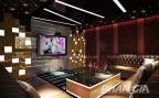 Không gian phòng karaoke tuyệt đẹp