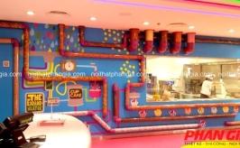 Thiết kế thế giới kẹo ngọt