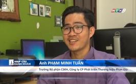 Phóng sự trên HTV9 về công ty Phan Gia