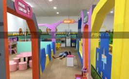 Khu vui chơi tại trẻ em Hậu Giang
