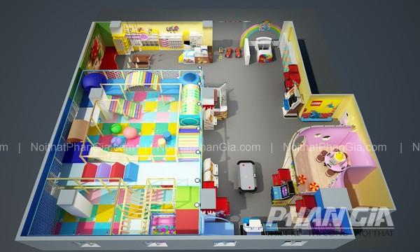 Thiết kế khu vui chơi
