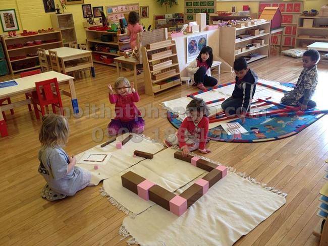 Thiết Kế Lớp Học Phương Pháp Montessori