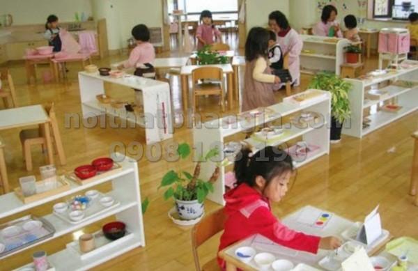 Thiết Kế Phòng Học Montessori