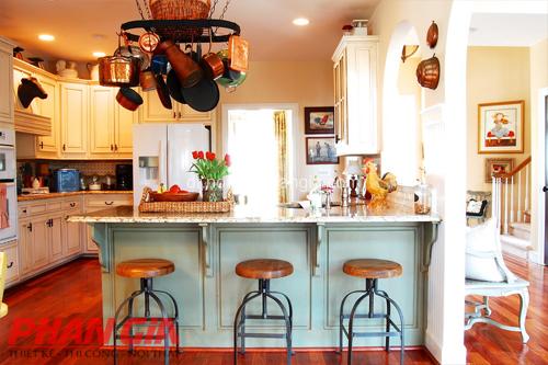Thiết kế nội thất phòng bếp tiện lợi