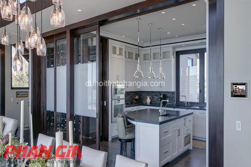 Thiết kế nội thất phòng bếp trang trọng lịch sự