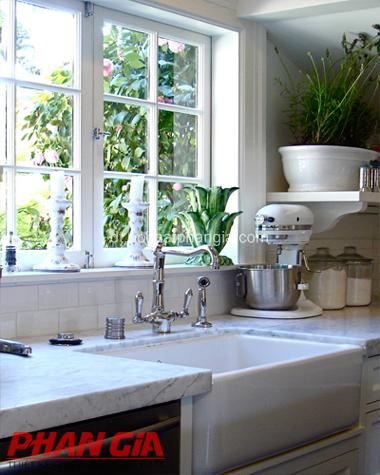Thiết kế nội thất nhà bếp phong cách Pháp