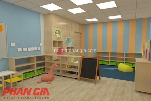 Thiết kế nội thất phòng học tập cho trẻ