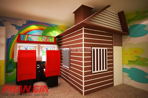 Thiết kế phòng chiếu phim 5d khu vui chơi