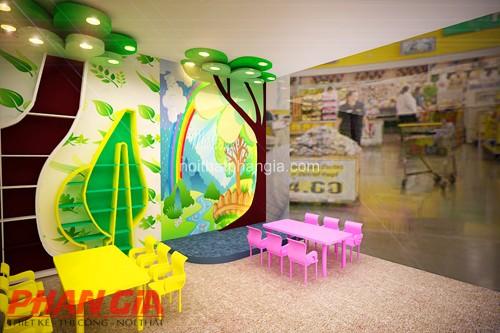 Thiết kế khu vui chơi trẻ em Tini